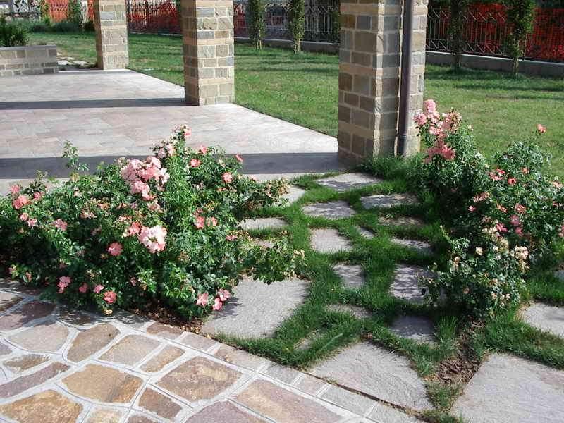 Piccoli giardini di villette immagine giardino di - Giardini di villette ...