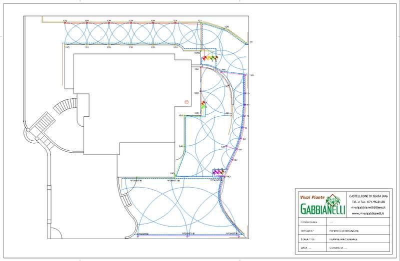 Impianti di irrigazione vivai piante gabbianelli for Calcolo impianto irrigazione